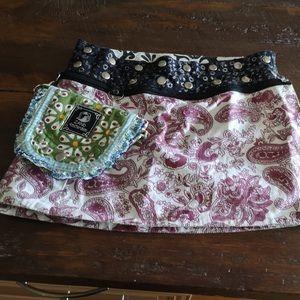Zand Amsterdam reversible mini skirt bag purse